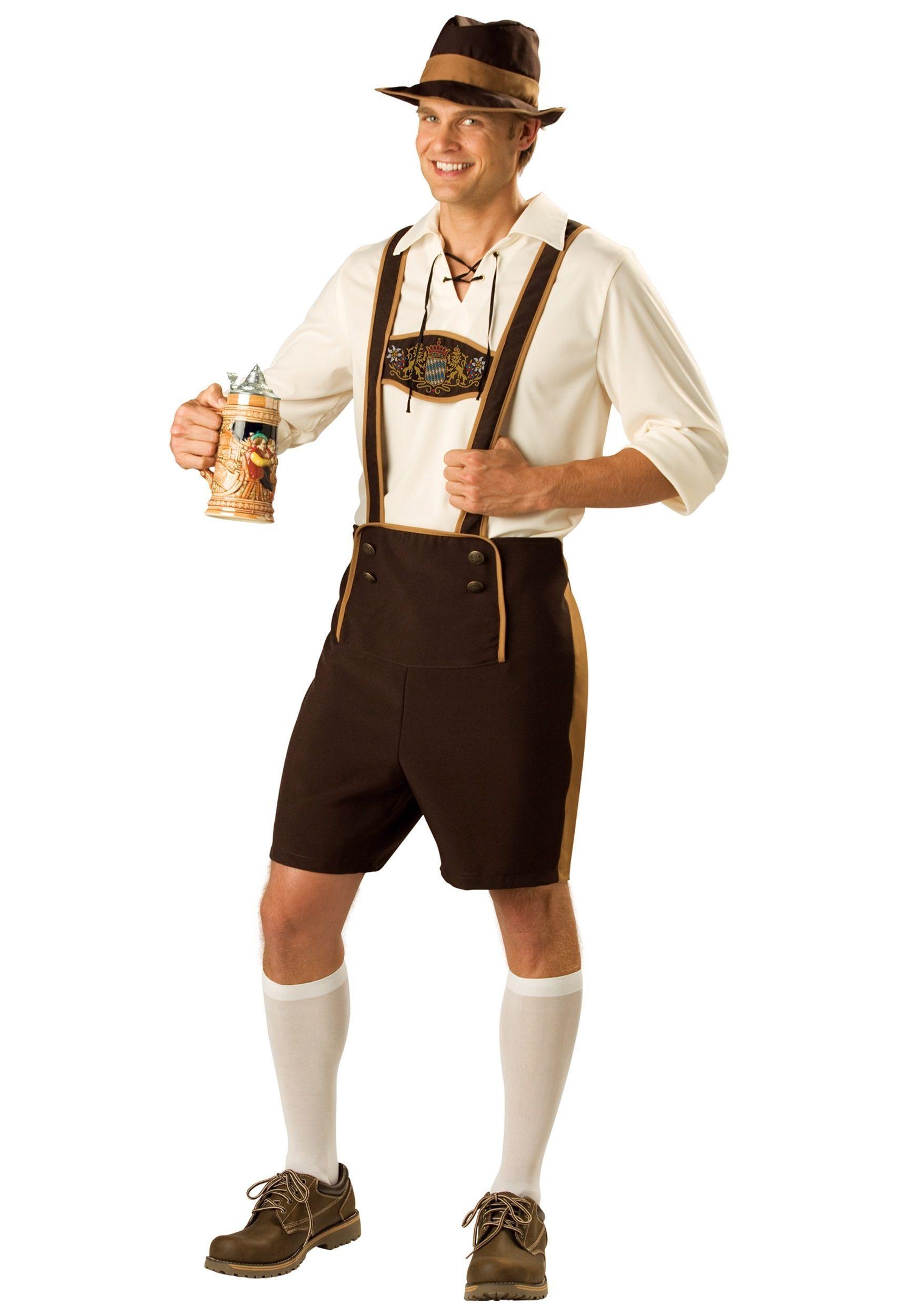 Костюм баварского юноши (46-48) 10 46 свитер