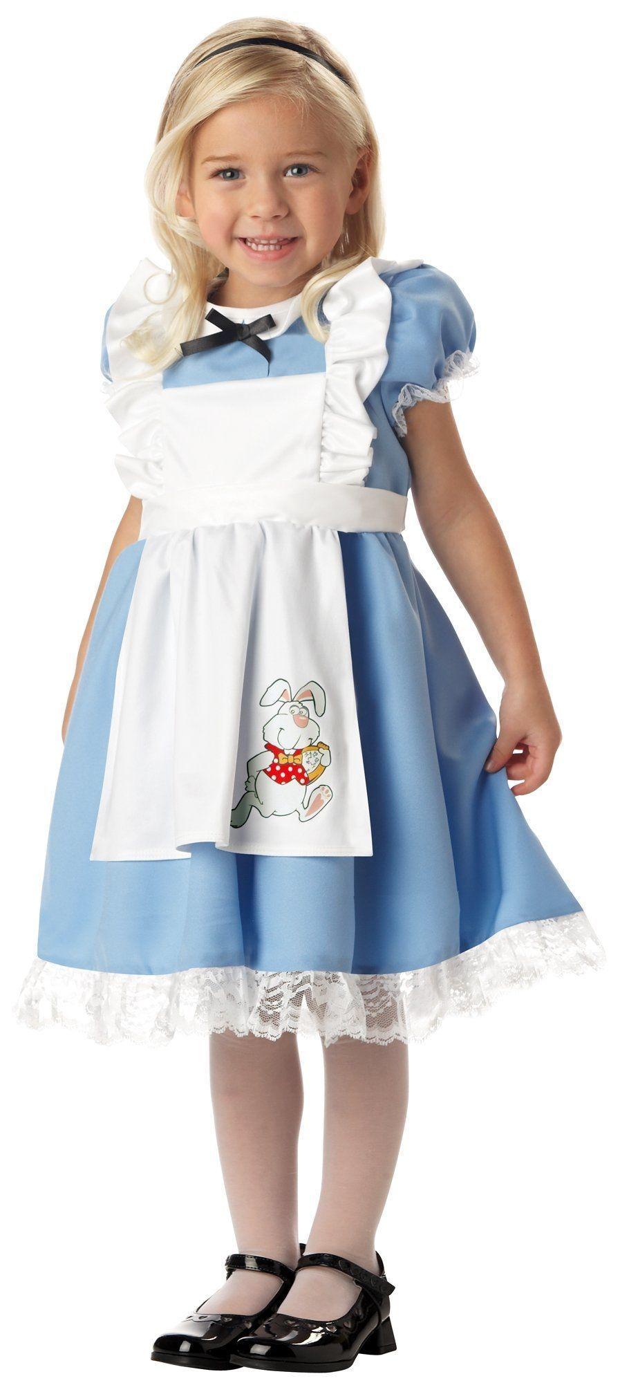 Костюм Алисы в стране Чудес детский (26-28) детский костюм озорного клоуна 34