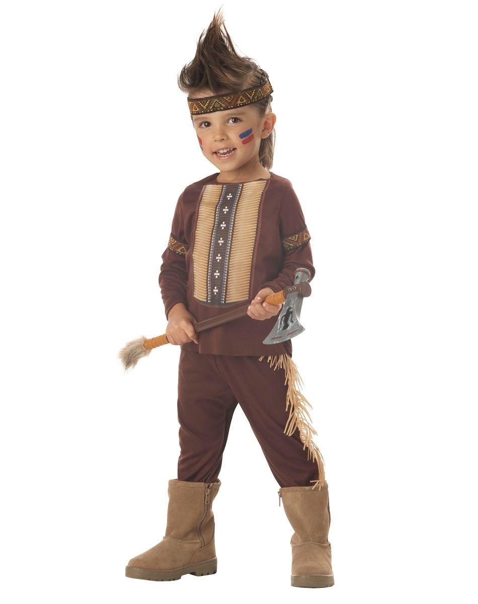 Костюм индейца-воина детский (26-28) костюм римского воина 50 54