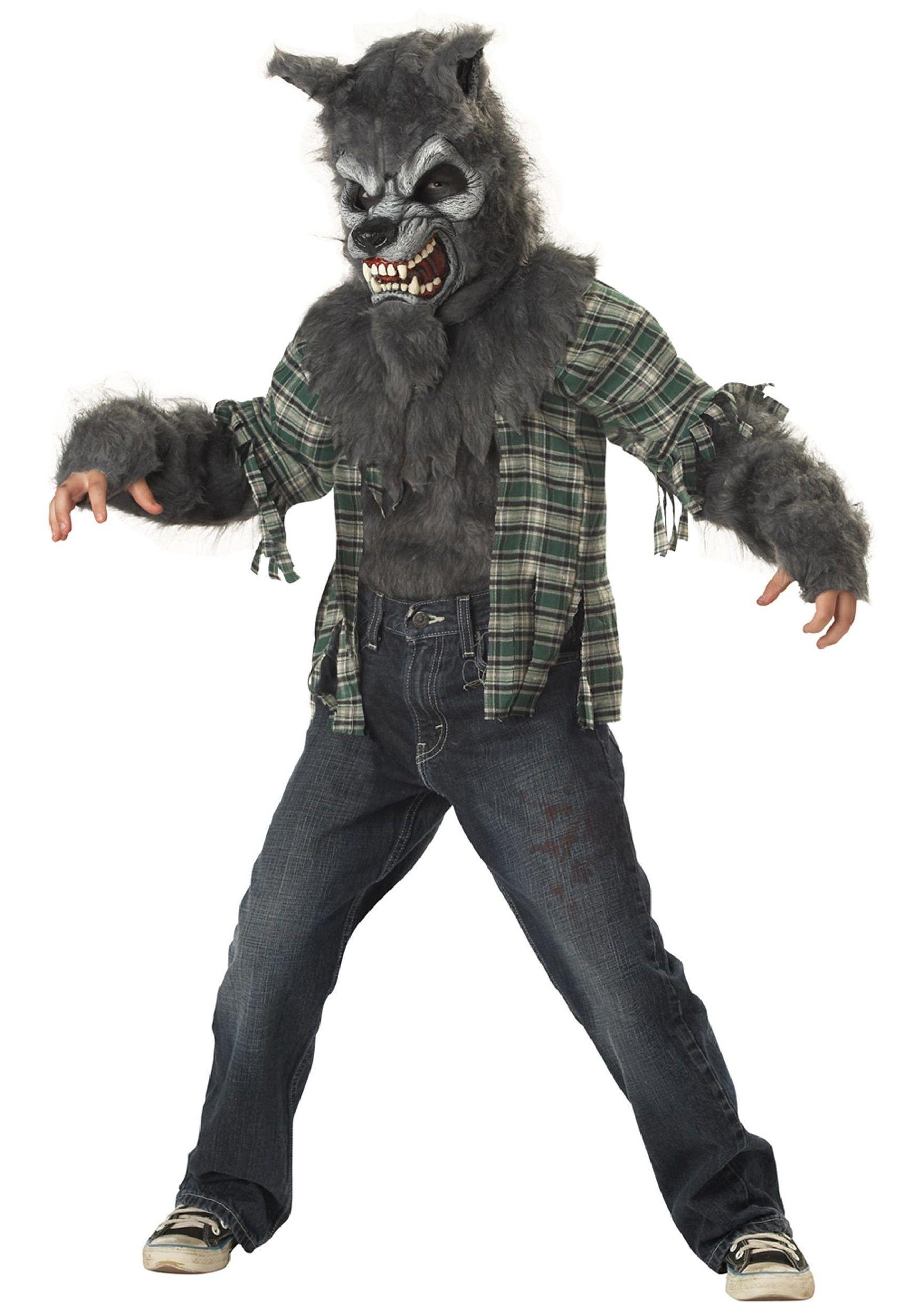 Детский костюм оборотня (42) - Животные и зверушки, р.42