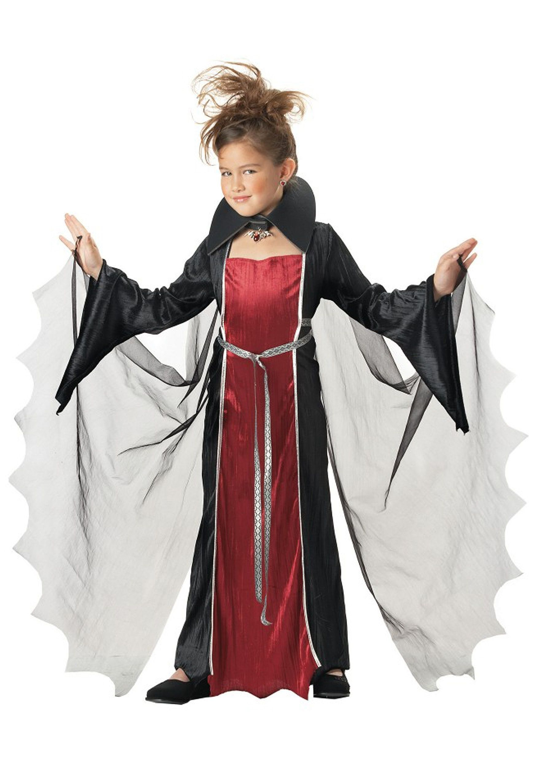 Костюм начинающей вампирши детский (42)