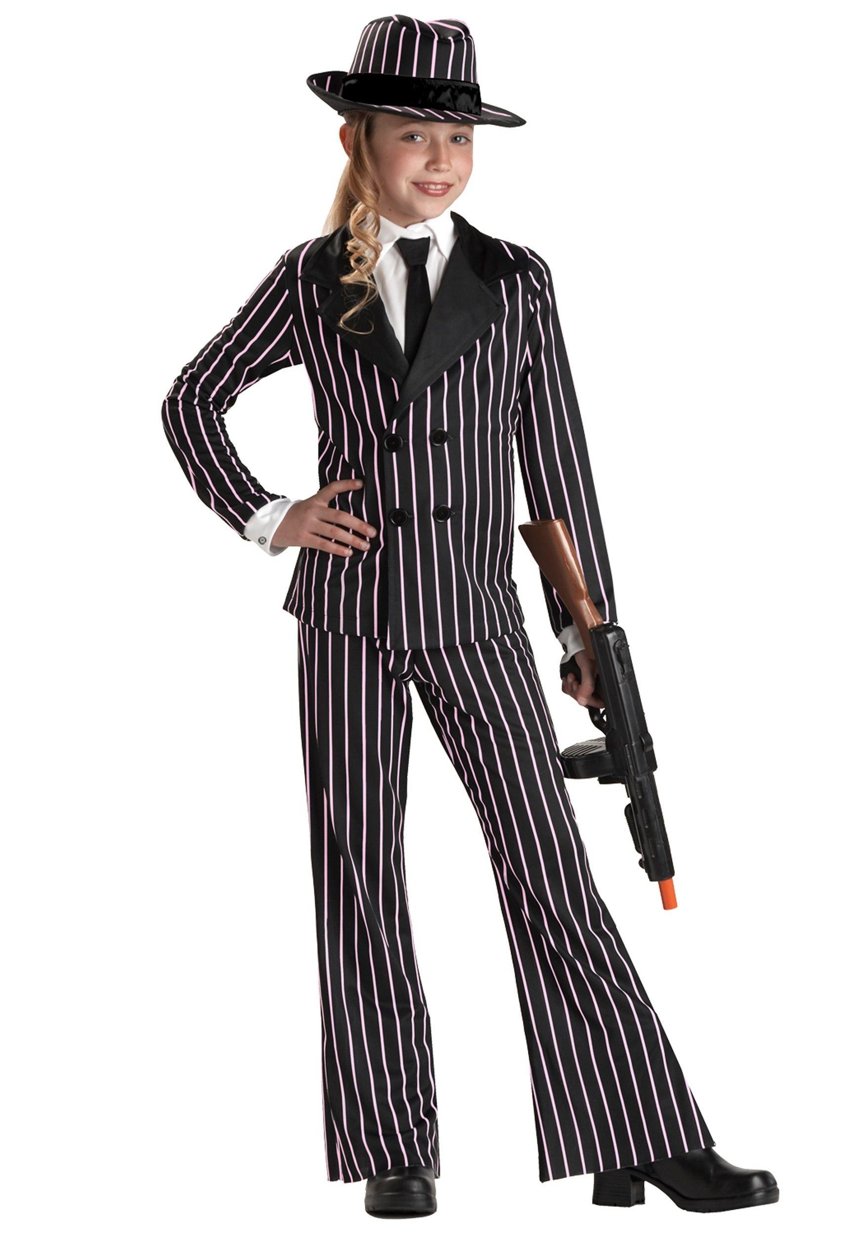 Костюм гангстерши детский (32-34) детский костюм джульетты 32 34
