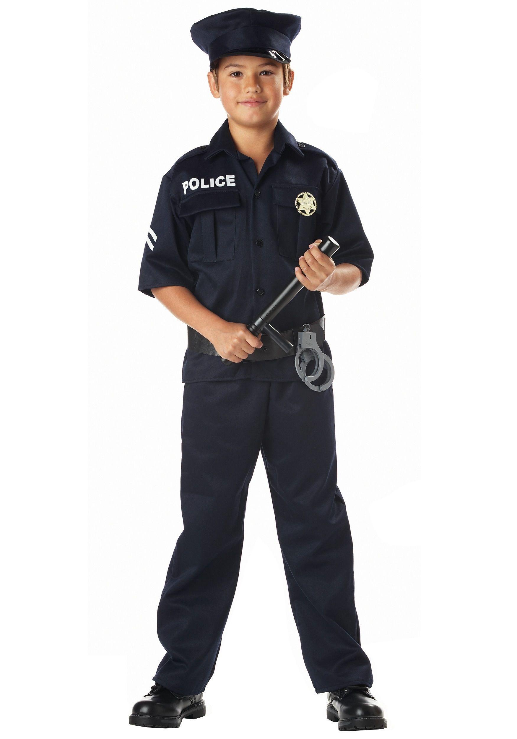 Костюм полицейского детский (38) - Пираты и моряки, р.38