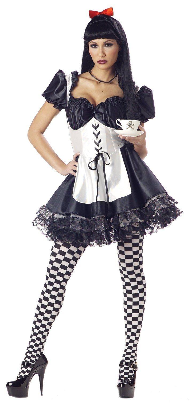 Костюм игривой Алисы (46-48) костюм радужной клоунессы 46 48