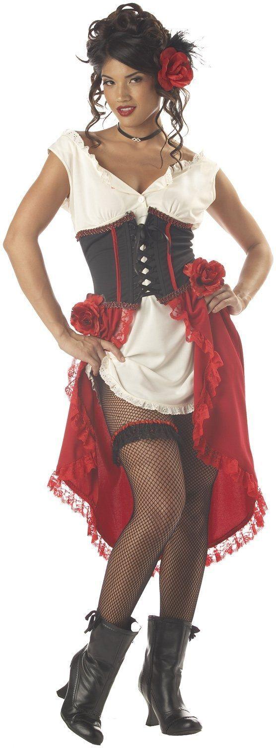 Костюм сладкой танцовщицы (48-50) красный корсет с пайетками и юбкой 50 52