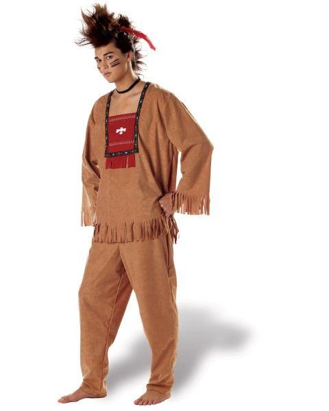 Костюм хитроумного индейца (44-46) костюм шерифа женский 44