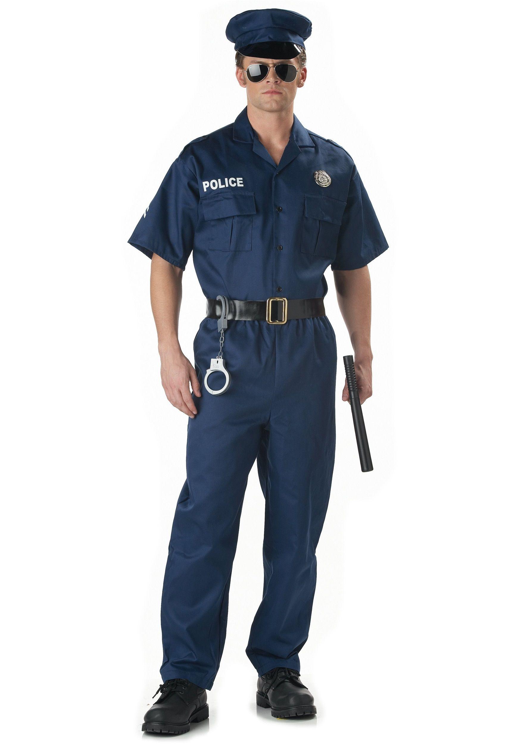 Костюм строгого полицейского (54) - Полицейские и копы, р.54