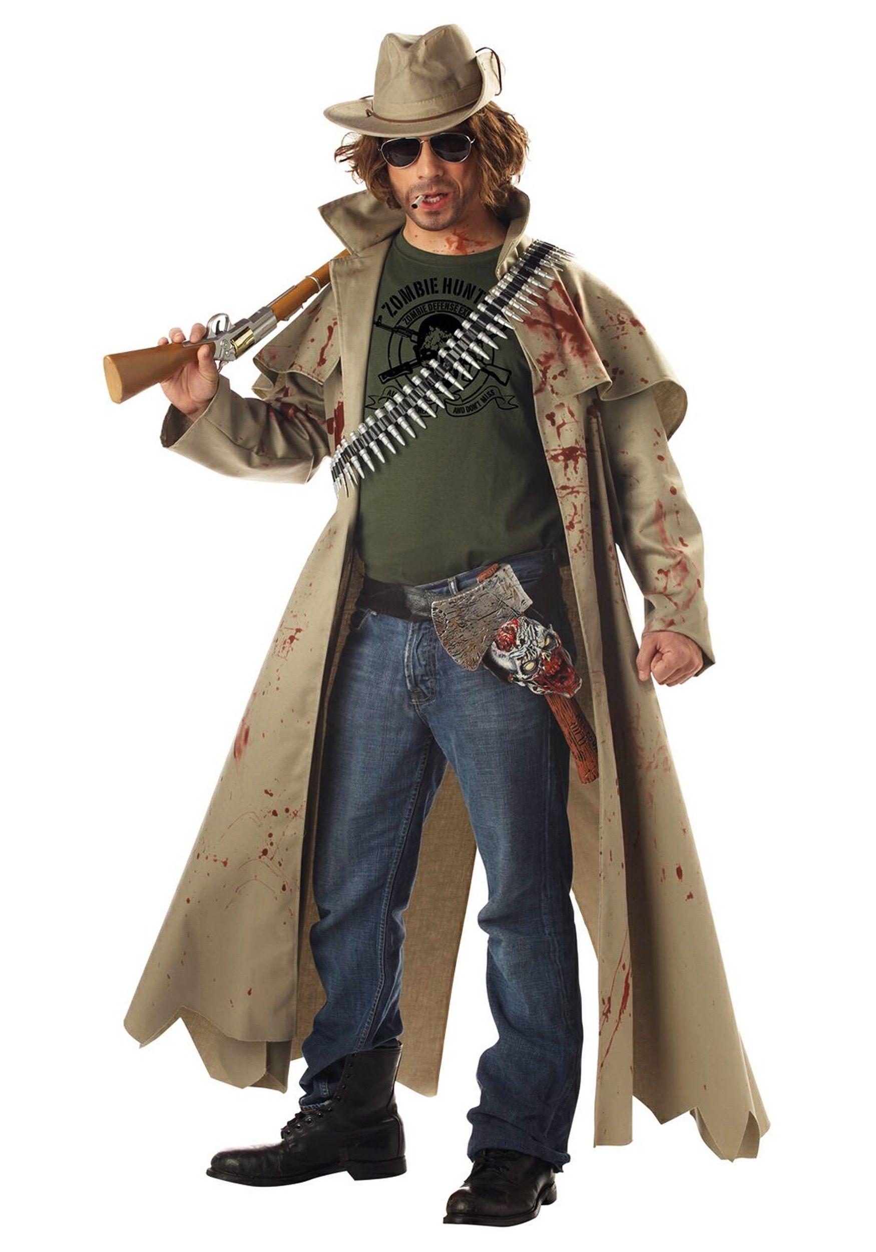 Костюм охотника на зомби (54)