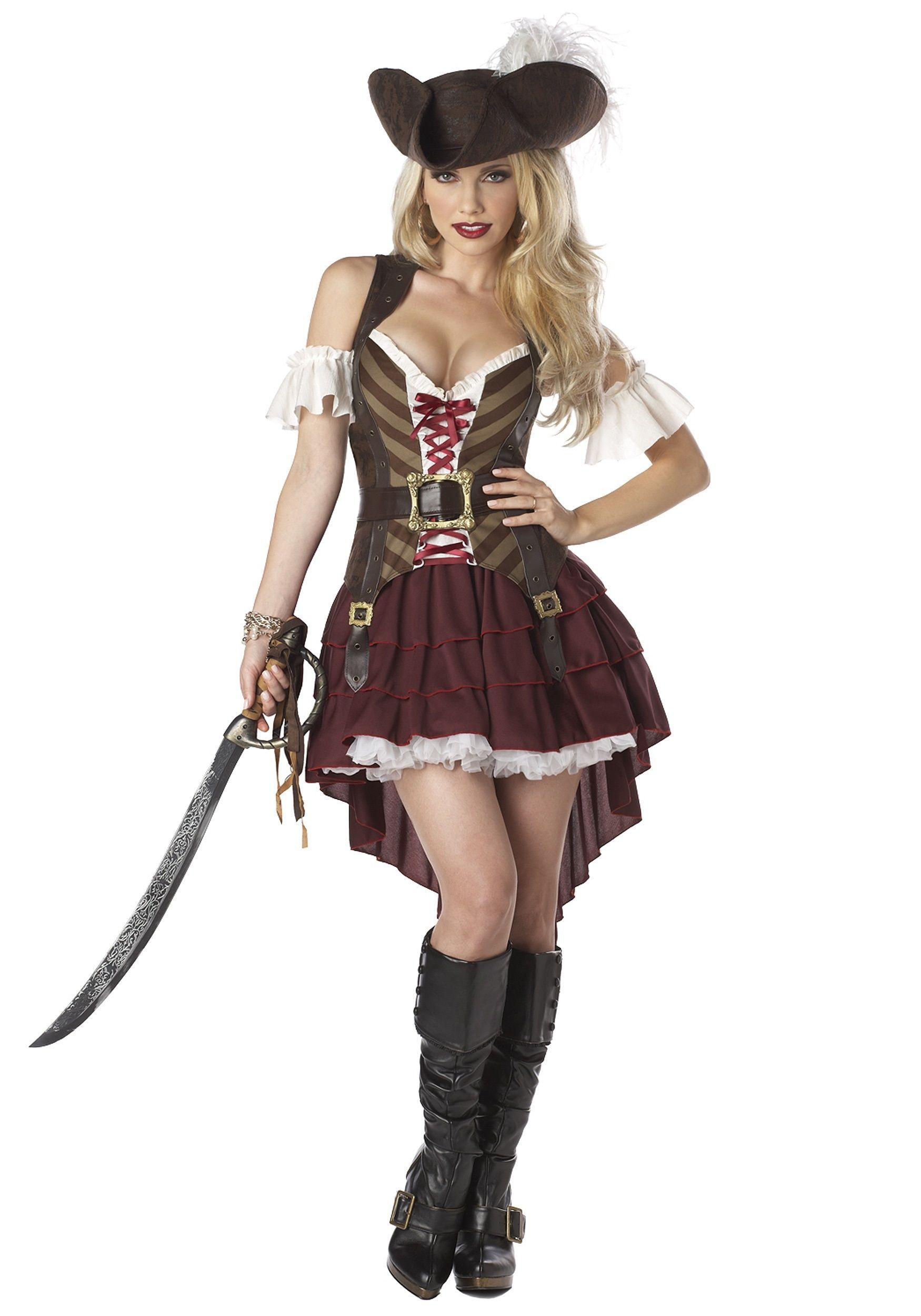 Костюм девушки-головореза (50) - Пираты и моряки, р.50