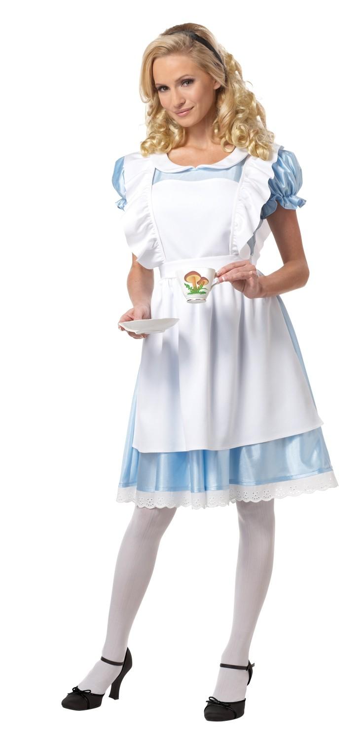 Костюм добродетельной Алисы (50-52)