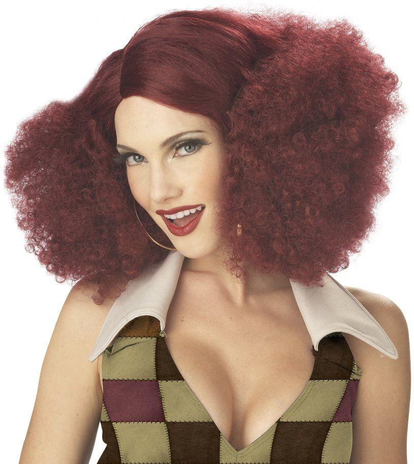 Парик диско-львицы (UNI) -  Парики и волосы