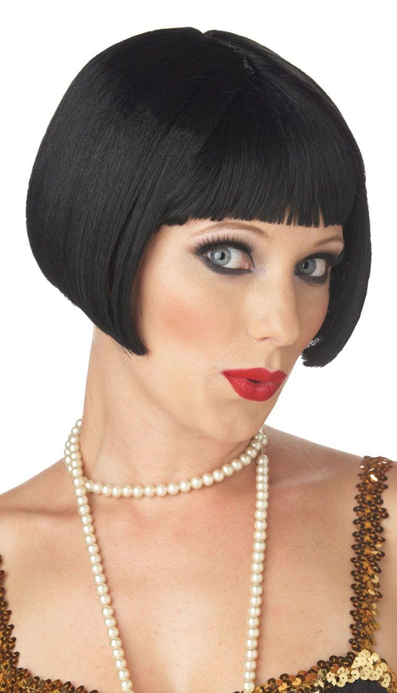 Парик милой кокетки брюнетки (UNI) -  Парики и волосы