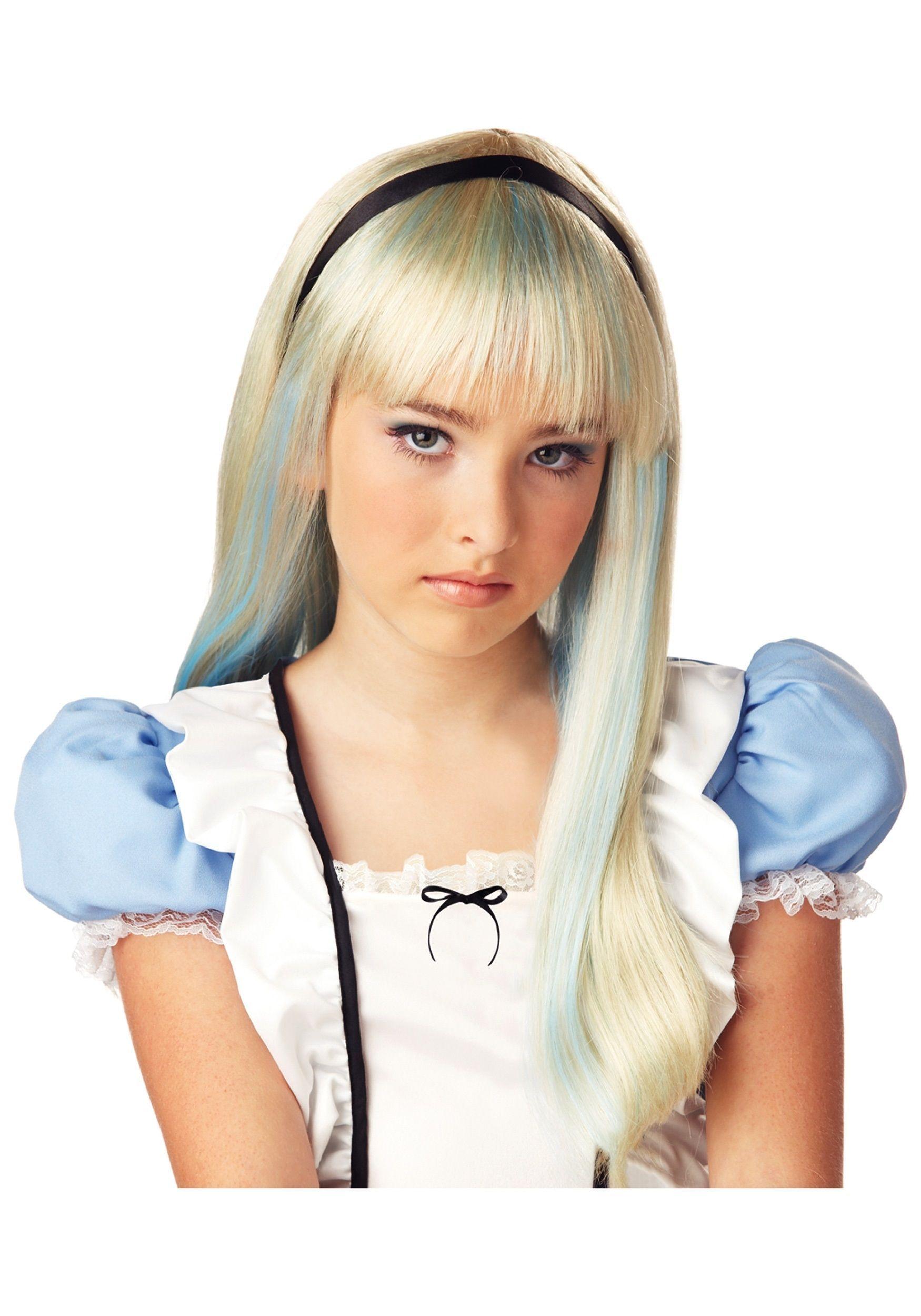 Подростковый парик Алисы (UNI) -  Парики и волосы
