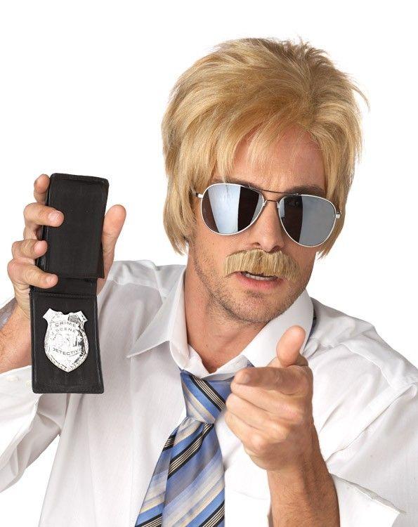 Парик детектива блондина (UNI) - Полицейские и копы