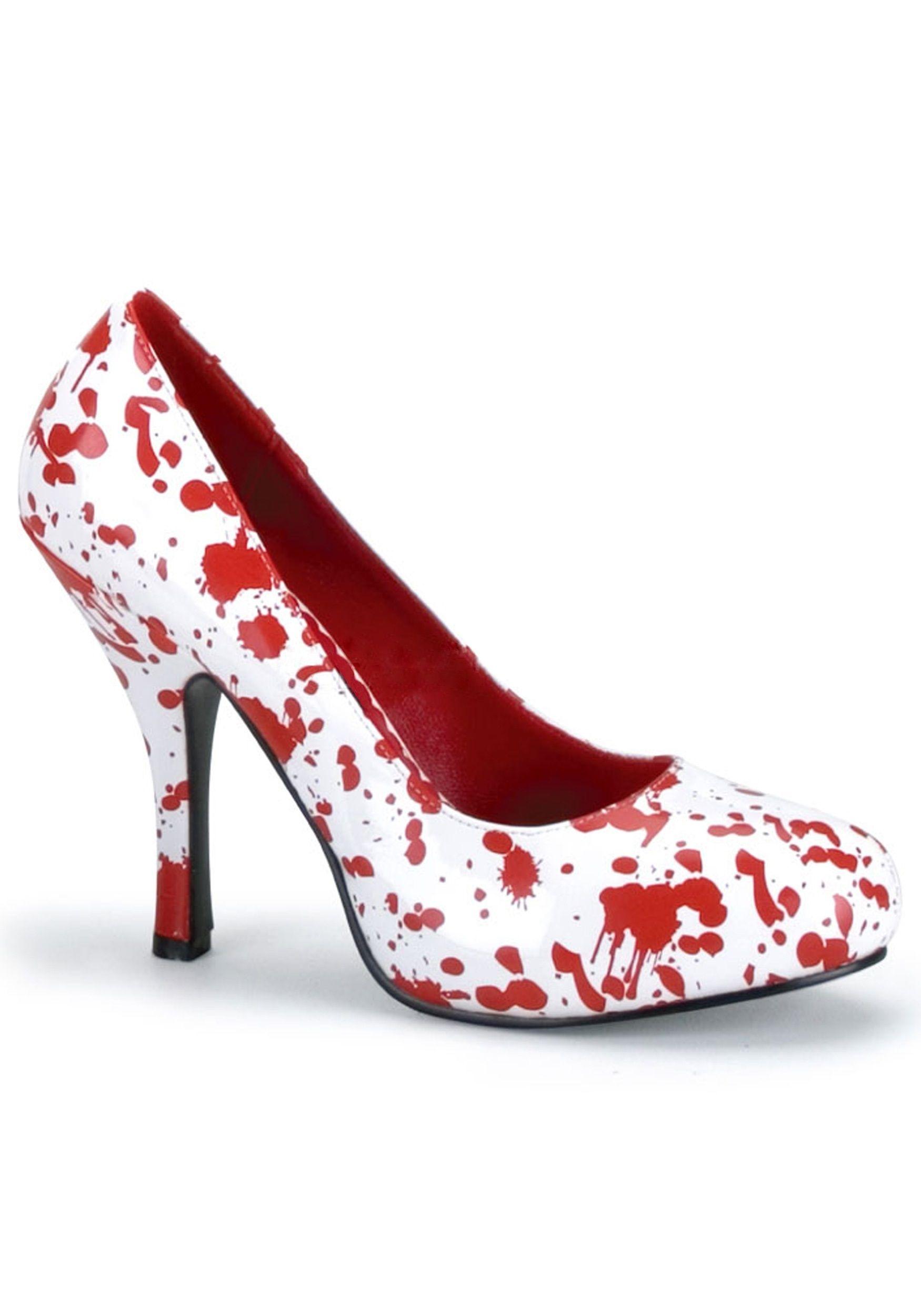 Кровавые туфли (42) - Аксессуары на Хэллоуин, р.42