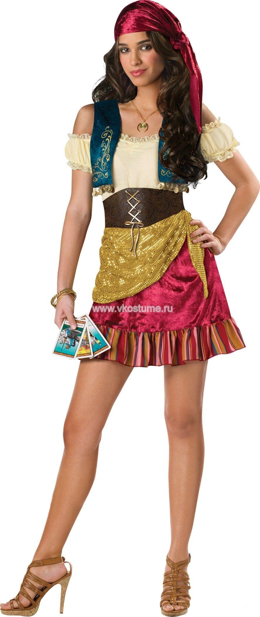 Костюм загадочной девушки цыганки (40-42) костюм цыганки 48