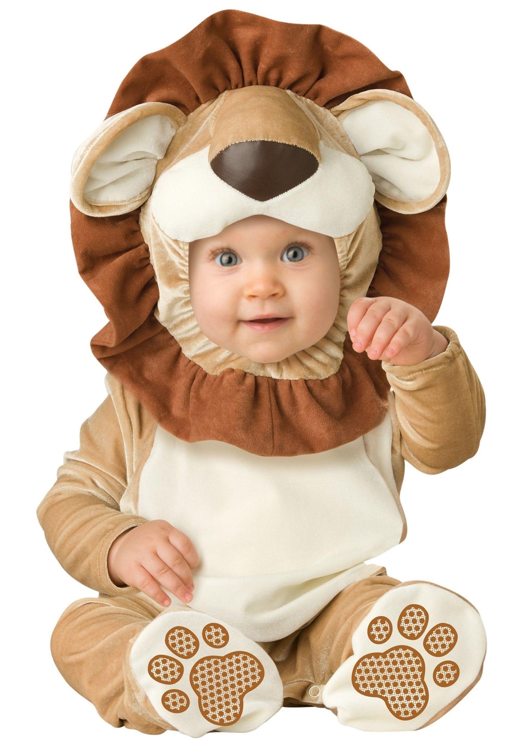 Костюм малыша львенка (L) - Животные и зверушки
