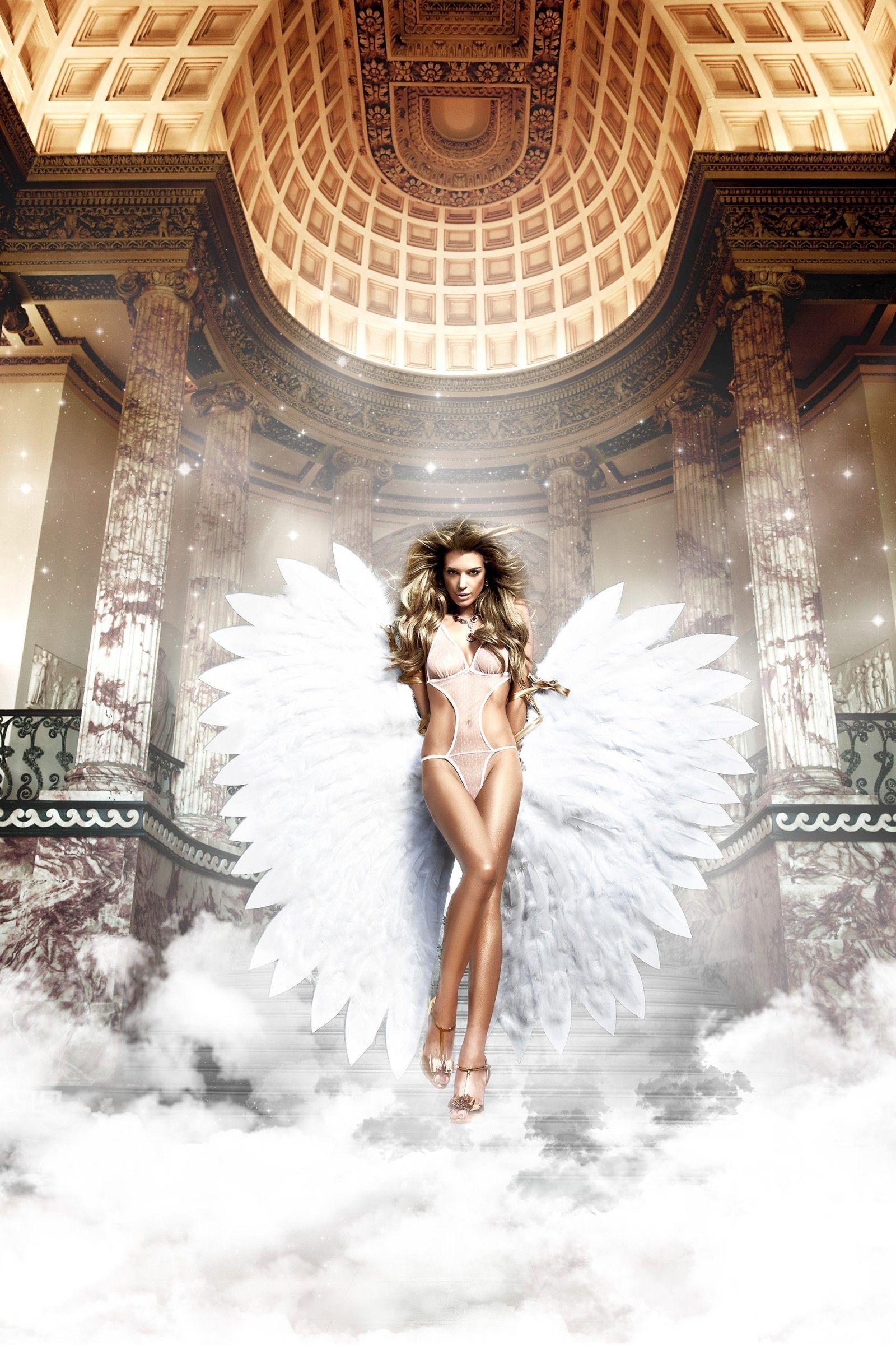 Монокини ангел (2-3) - Женские комплекты, р.2-3