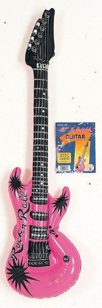 Надувная гитара (UNI) - Аксессуары на карнавал