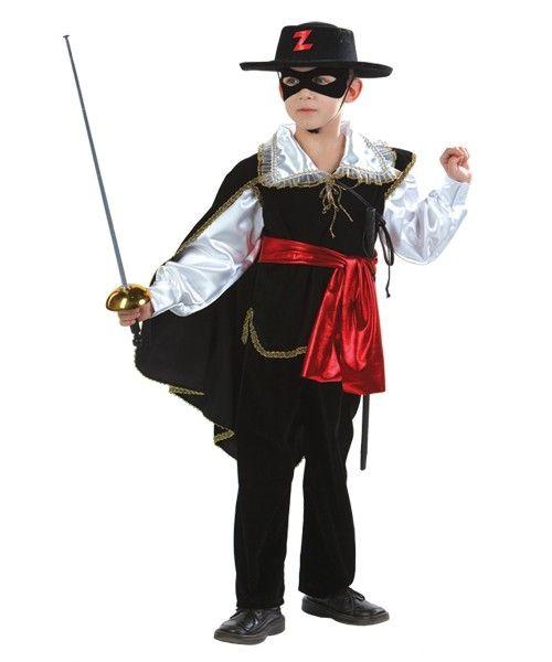 Детский костюм смелого Зорро (38)