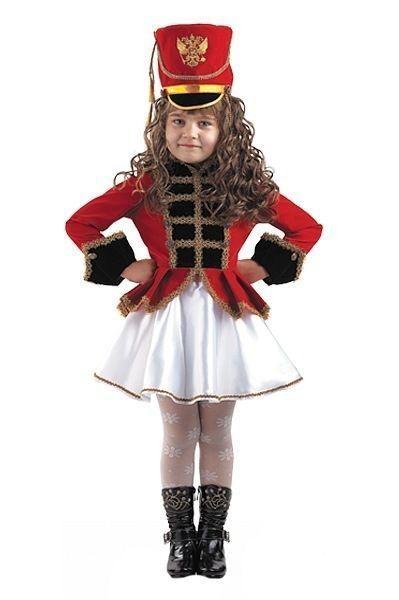 Костюм девочки мажоретки (34) детский костюм озорного клоуна 34