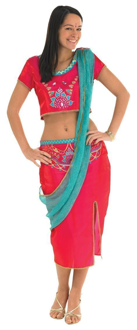 Костюм индийской старлетки (46) - Национальные костюмы, р.46