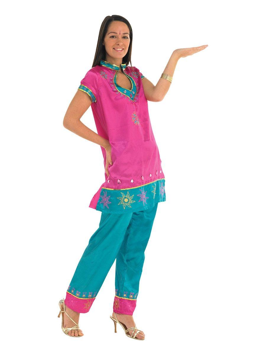 Костюм индийской леди (46-48) костюм радужной клоунессы 46 48
