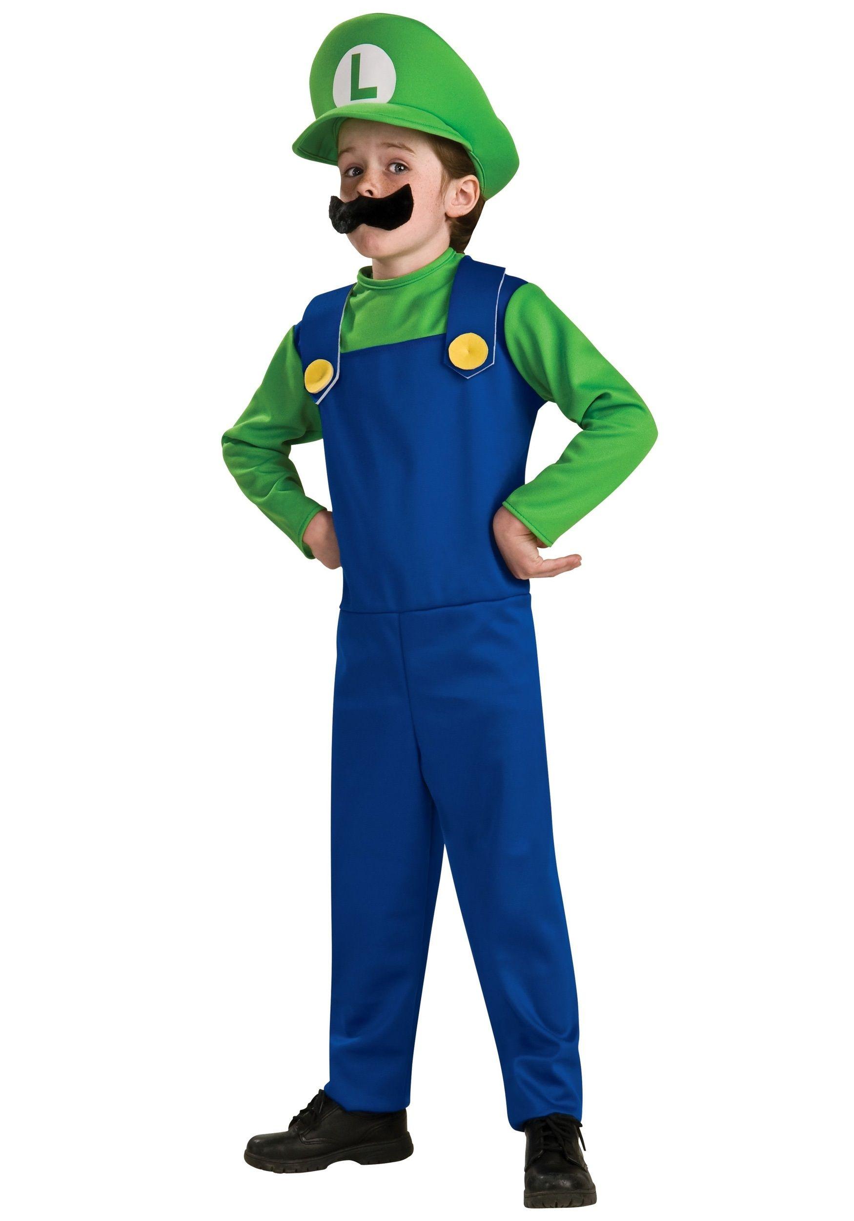 Детский костюм Луиджи (40) - Герои видеоигр, р.40