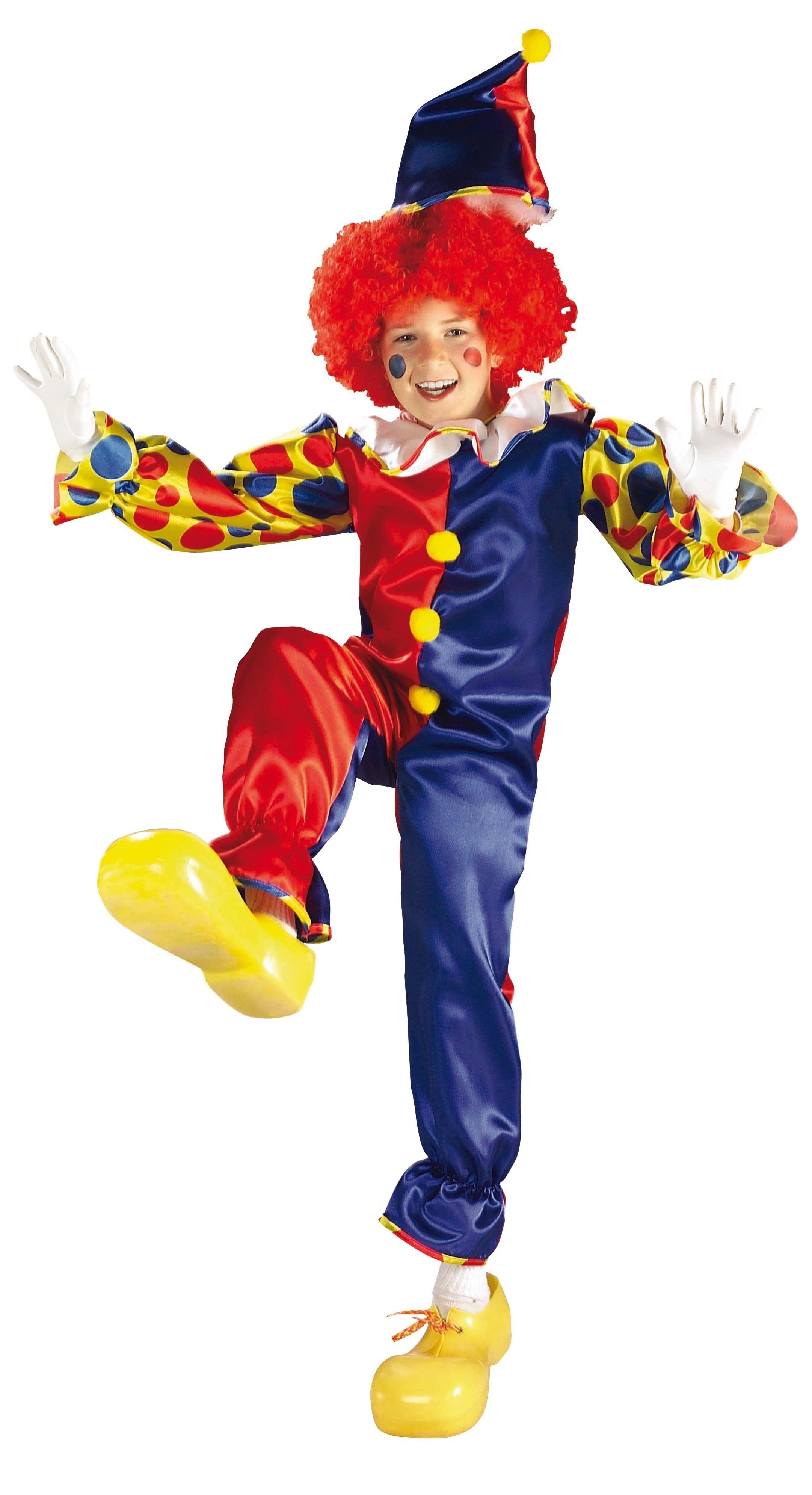Детский костюм клоуна-акробата (32-34) детский костюм клоуна весельчака 38