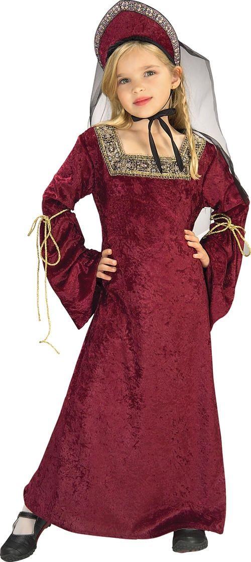 Детский костюм придворной леди (32-34) детский костюм джульетты 32 34
