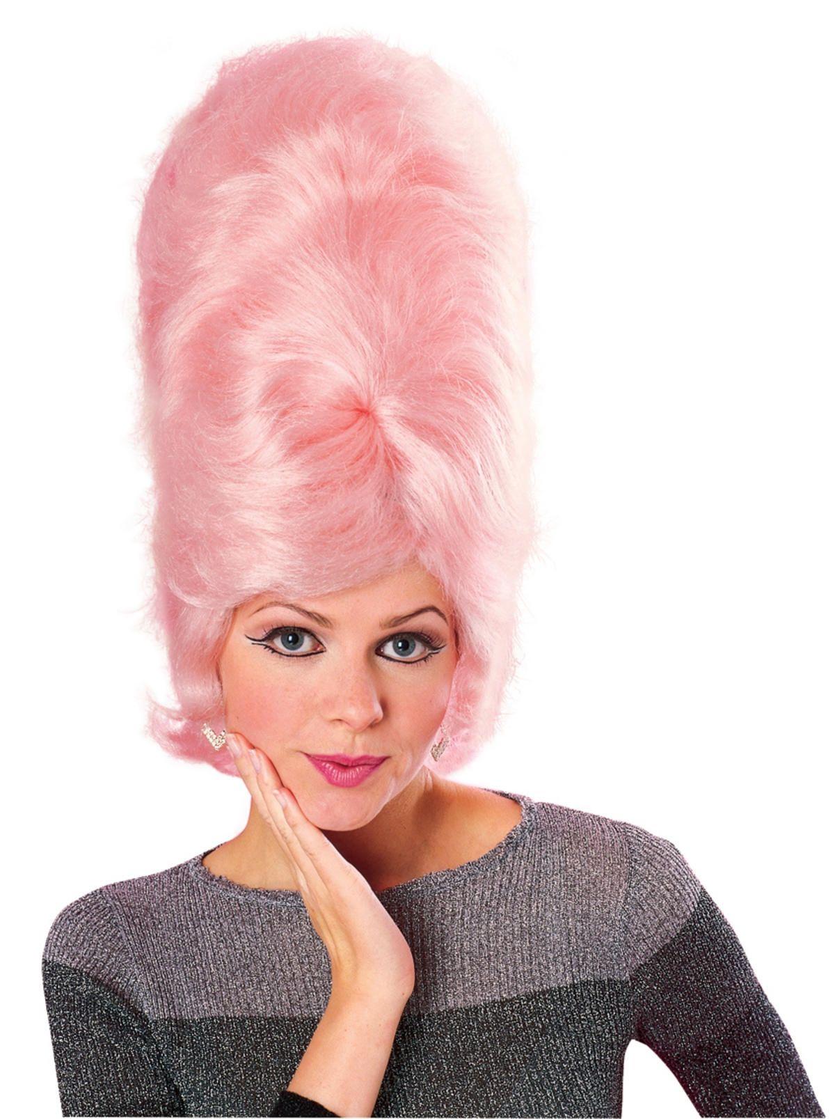 Парик Мардж Симпсон розовый (UNI) - Парики и волосы