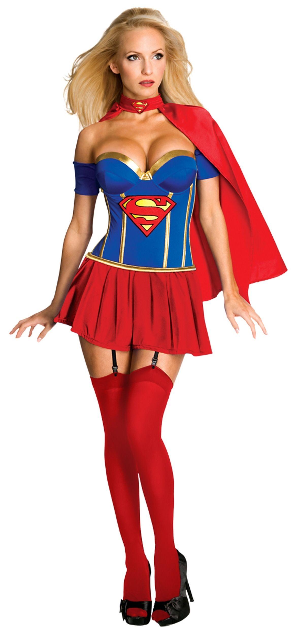 Корсетный костюм Супервумен (42-44)