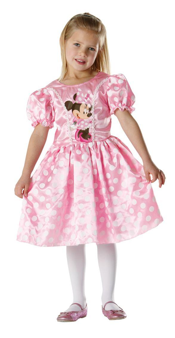 Классическое платье девочки Минни Маус (L) - Сказочные герои