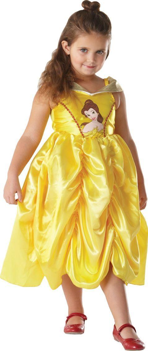 Классическое детское платье Бэлль (34) - Сказочные герои, р.34