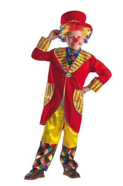 Детский костюм клоуна-весельчака (38)