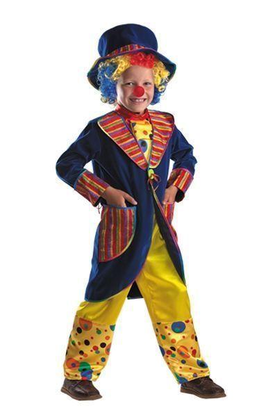 Детский костюм Озорного клоуна (34) детский костюм озорного клоуна 34