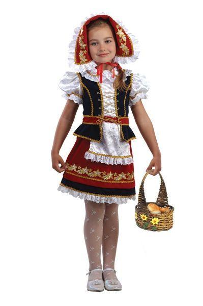 Костюм Прекрасной шапочки (30) костюм маленькой снежинки 32