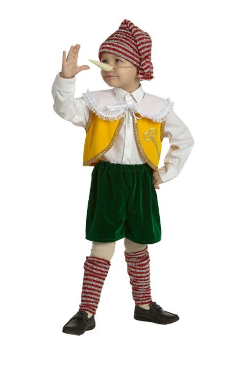 Детский костюм мальчика Пинокио (32) костюма снеговика для мальчика на авито
