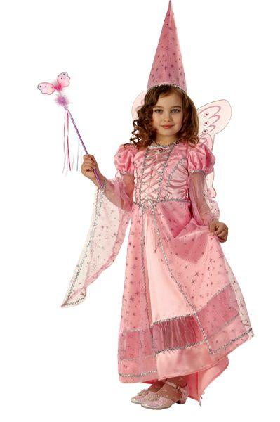 Детский костюм Волшебной Феи розовый (34) детский костюм фиолетовой феи виндс 34