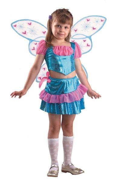 Костюм маленькой феи Блум (34) костюм маленькой снежинки 32