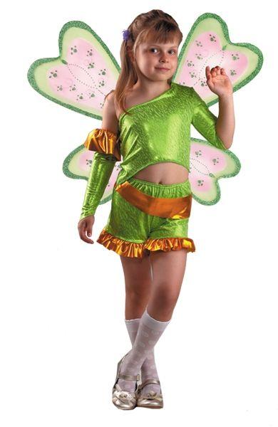 Костюм маленькой феи Рокси (34) детский костюм фиолетовой феи виндс 34