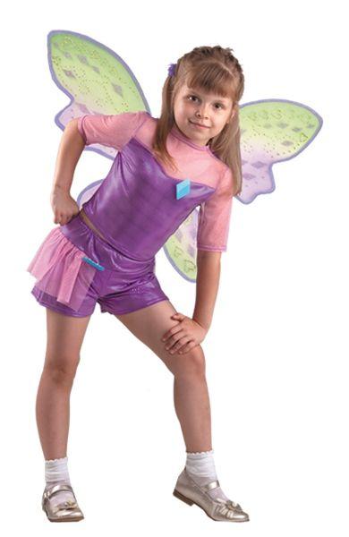 Костюм маленькой феи Техны (34) детский костюм фиолетовой феи виндс 34
