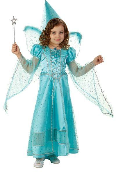 Детский костюм Волшебной Феи голубой (34)
