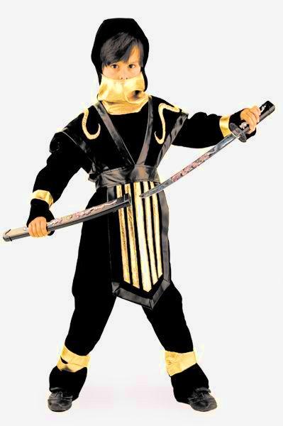 купить Детский костюм Отважного Ниндзи (34) недорого