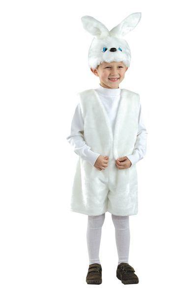 Детский костюм ушастого зайчика (30-32)