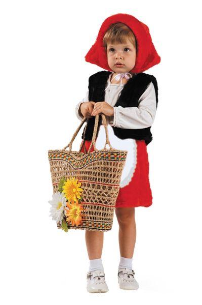 Детский костюм красненькой шапочки (28)