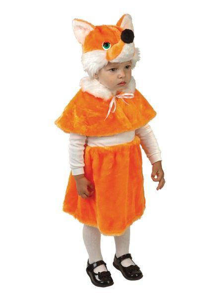 Детский костюм маленькой лисички (28) костюм маленькой снежинки 32