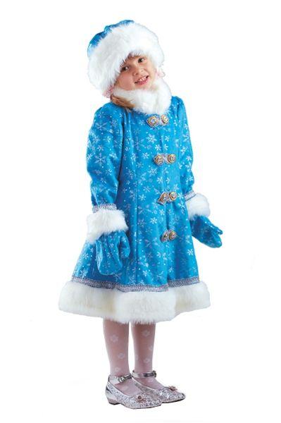 Костюм внучки-снегурочки (32-34) костюм снегурочки конфетки 40 44