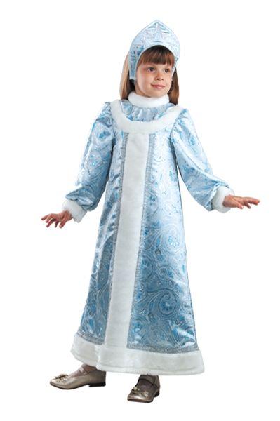 Костюм маленькой Снегурочки (34) костюм снегурочки конфетки 40 44