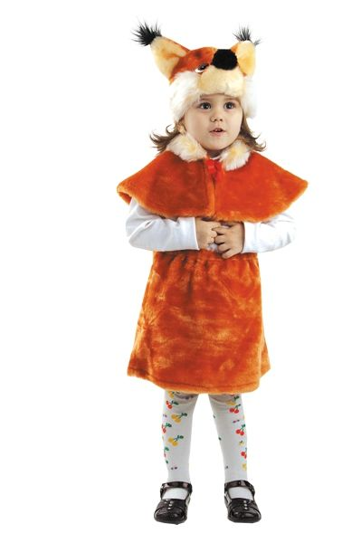 Детский костюм пушистой белочки (28)